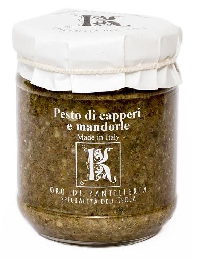 PESTO DI CAPPERI E MANDORLE b13ea5a9d8af